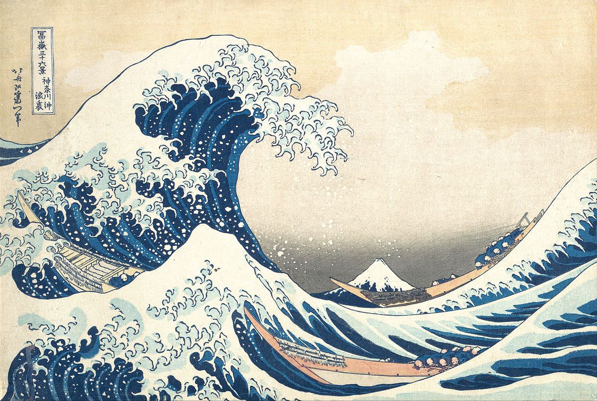 Thrilling seascapes … Hokusai's Great Wave. Photograph: British Museum