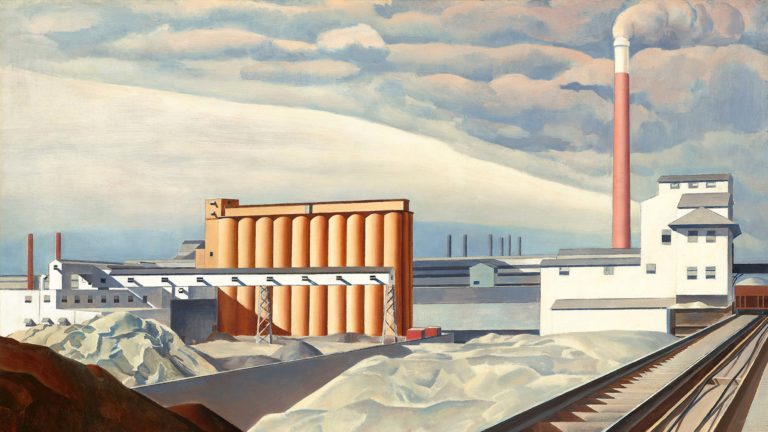 """Classic Landscape"" by Charles Sheeler"